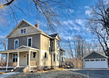 five bedroom restored Victorian home for lease in hatfield MA