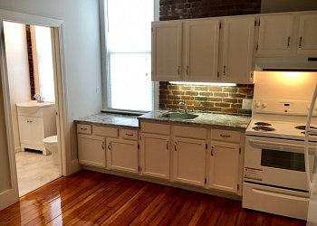 exposed brick studio amherst one bedroom apartment house